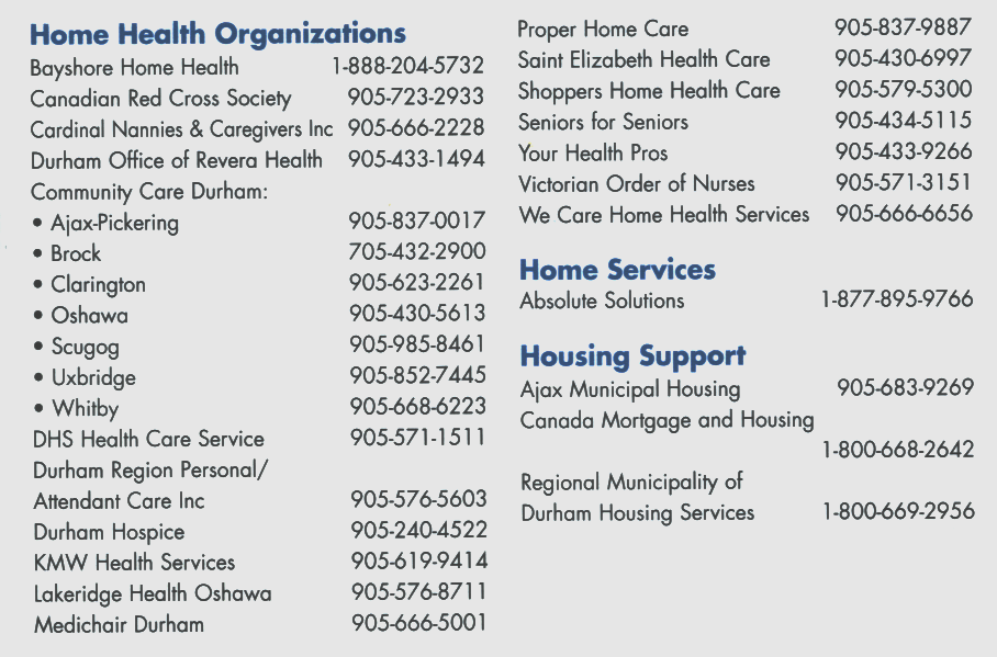 HOME HEALTH SERVICES 01